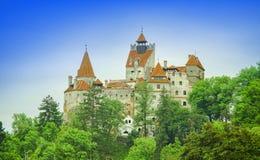 Otręby kasztel Dracula, Transylvania zdjęcia stock