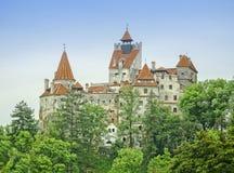Otręby kasztel Dracula, Transylvania obraz royalty free