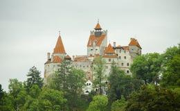 Otręby kasztel Dracula, Transylvania obraz stock