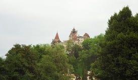 Otręby kasztel Dracula, Transylvania fotografia stock