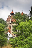 Otręby kasztel (kasztel Dracula) Rumunia zdjęcia stock