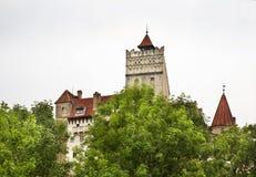 Otręby kasztel (kasztel Dracula) Rumunia obraz royalty free