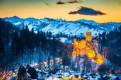 Otręby kasztel - Rumunia, Transylvania fotografia royalty free