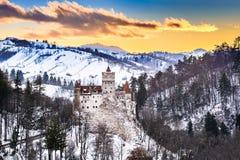 Otręby kasztel - Rumunia, Transylvania obraz stock