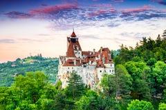 Otręby kasztel, Rumunia, Transylvania zdjęcia stock
