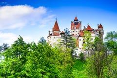 Otręby kasztel - Rumunia w Transylvania obraz royalty free