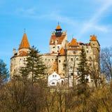 Otręby kasztel, Rumunia, znać dla opowieści Dracula obraz stock