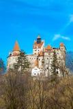 Otręby kasztel, Rumunia, znać dla opowieści Dracula fotografia royalty free