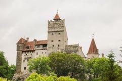 Otręby kasztel, Transylvania Rumunia obraz stock