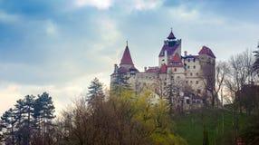 Otręby kasztel w Rumunia, Transylvania zdjęcie stock