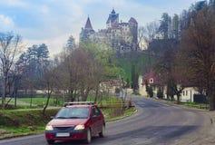 Otręby kasztel w Rumunia, Transylvania zdjęcia royalty free