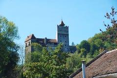 Otręby kasztel w Transylvania fotografia royalty free