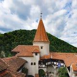 Otręby lub Dracula kasztel w Transylvania, Rumunia zdjęcia stock