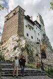 Otręby lub Dracula kasztel w Transylvania, Rumunia obraz royalty free