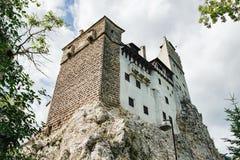 Otręby lub Dracula kasztel w Transylvania, Rumunia zdjęcie stock