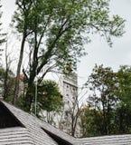 Otręby lub Dracula kasztel w Transylvania, Rumunia zdjęcie royalty free