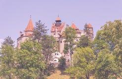 Otręby sławny wampira kasztel Dracula w Transylvania zdjęcia royalty free