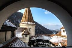 Otrębiasty Castel Fotografia Royalty Free