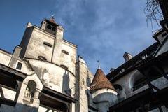 Otrębiasty Castel Obrazy Royalty Free