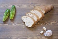 Otrębiasty chleb Obraz Royalty Free