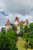 Otr?by kasztel, tak?e zna jako Dracula ` s kasztel, Brasov, Rumunia zdjęcia stock