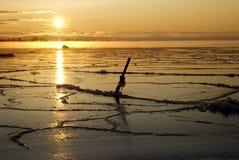 Otra salida del sol de Winterly Fotografía de archivo libre de regalías