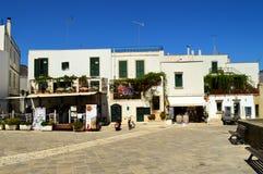Otranto Апулия Италия Стоковое фото RF
