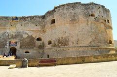 Otranto Апулия Италия Стоковые Изображения RF