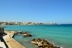 Otranto Апулия Италия Стоковое Фото
