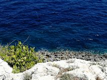 Otranto& x27; adriatisches Meer s stockbilder
