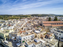 Otranto with Aragonese castle, Apulia, Italy. Otranto with historic Aragonese castle in the city center, Apulia, Italy Stock Photo