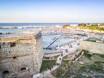 Otranto with Aragonese castle, Apulia, Italy Royalty Free Stock Image