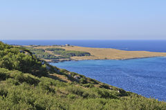 Otranto bay,salento,puglia,orte, Royalty Free Stock Photo