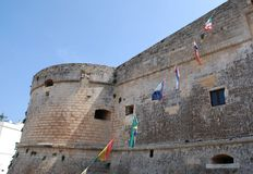 Otranto Castle Stock Photos