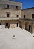 Otranto Castle - internal court Stock Images