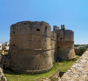 Otranto castle panorama italy Royalty Free Stock Image