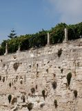 Otranto Castle Wall Royalty Free Stock Photos