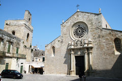 Otranto cathedral Royalty Free Stock Images