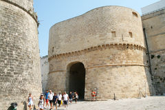Otranto gate Stock Photos