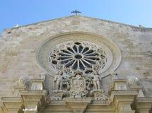 Otranto i Puglia i Italien Arkivfoto