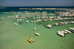 Otranto, Italien Stockbild