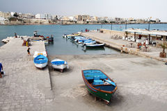 Otranto port Stock Photography