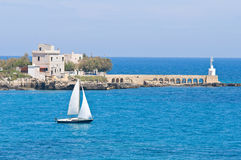 Otranto. Puglia. Italy. Royalty Free Stock Photo