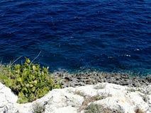Otranto& x27; s adriatic morze obrazy stock