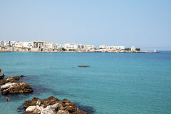 Otranto sea Royalty Free Stock Photography