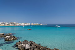 Otranto sea stock photos