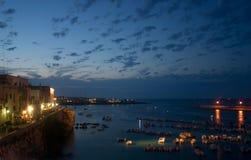 Otranto seaport stock photography