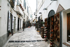 Otranto shops Royalty Free Stock Image