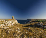 Otranto tower emiliano Stock Image