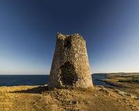 Otranto tower emiliano Royalty Free Stock Images